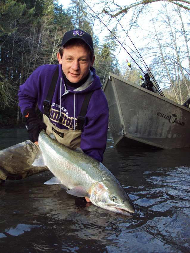 New years steelhead prospects the outdoor line blog for Hoh river fishing report