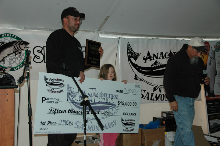 Norm Dicks inducted into Wild Salmon Hall of Fame