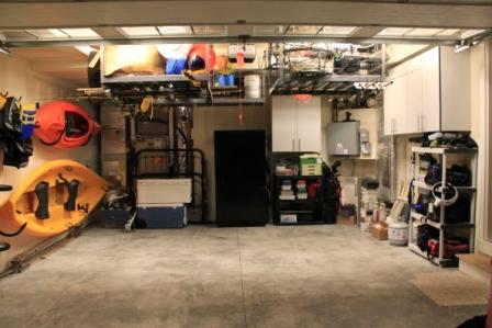 Example Organic Organized Garage Examples