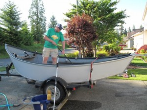 Drift boats require very little maintenance -Jason Brooks