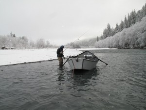"Aluminum boats are thought to be ""cold"" -Jason Brooks"