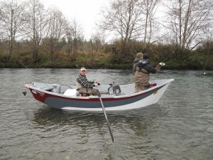 A drift boat is a great way to enjoy a relaxing  day of fishing -Jason Brooks