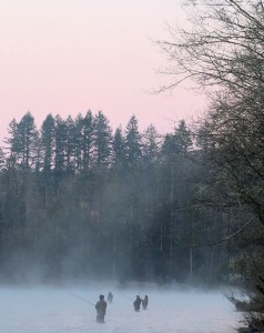 Bank angling for winter steelhead, a Northwest Tradition