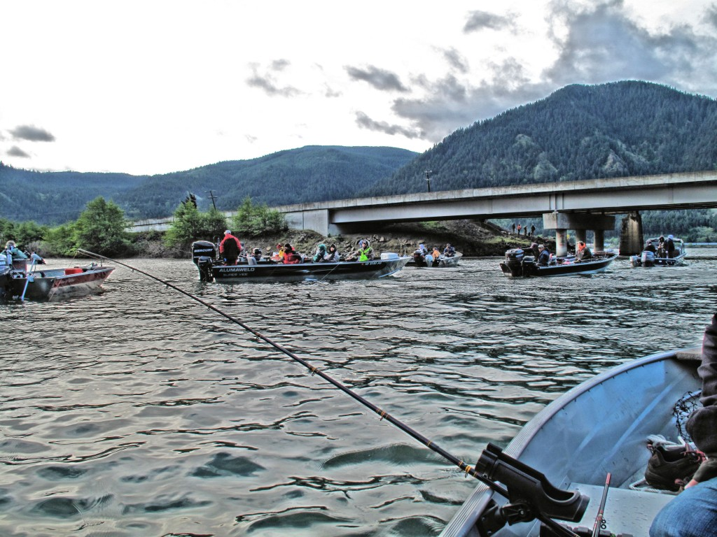 April and May means it's time to fish the tributaries for Spring Chinook-Jason Brooks