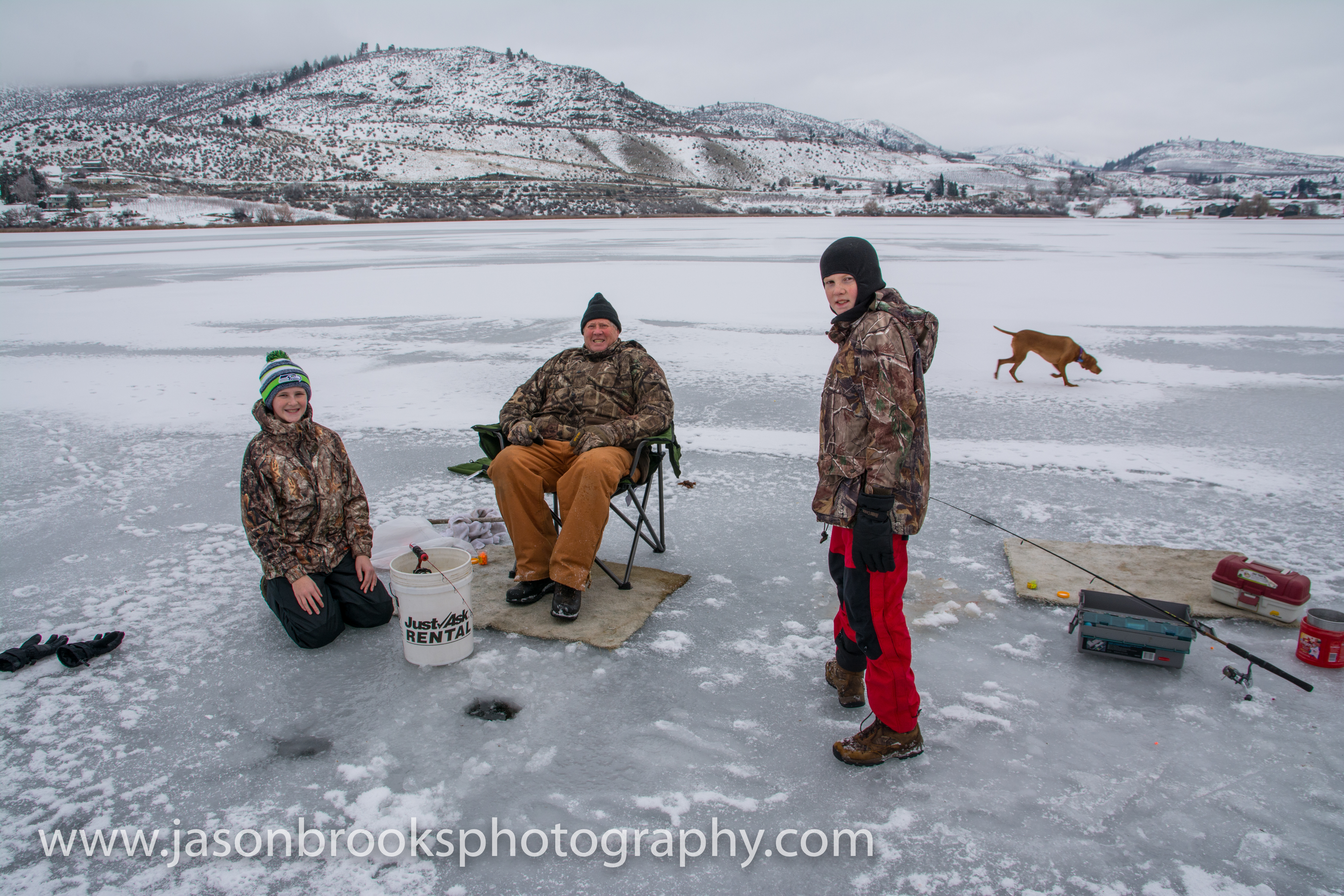 Montana ice fishing report december 2012 for Ice fishing reports