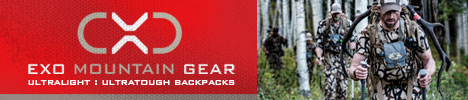 EXO Mountain Gear Backcountry Hunting Packs - Boise, Idaho