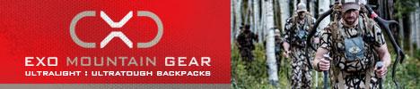 EXO Mountain Gear Backcountry Hunting Packs - Boise, Idaho