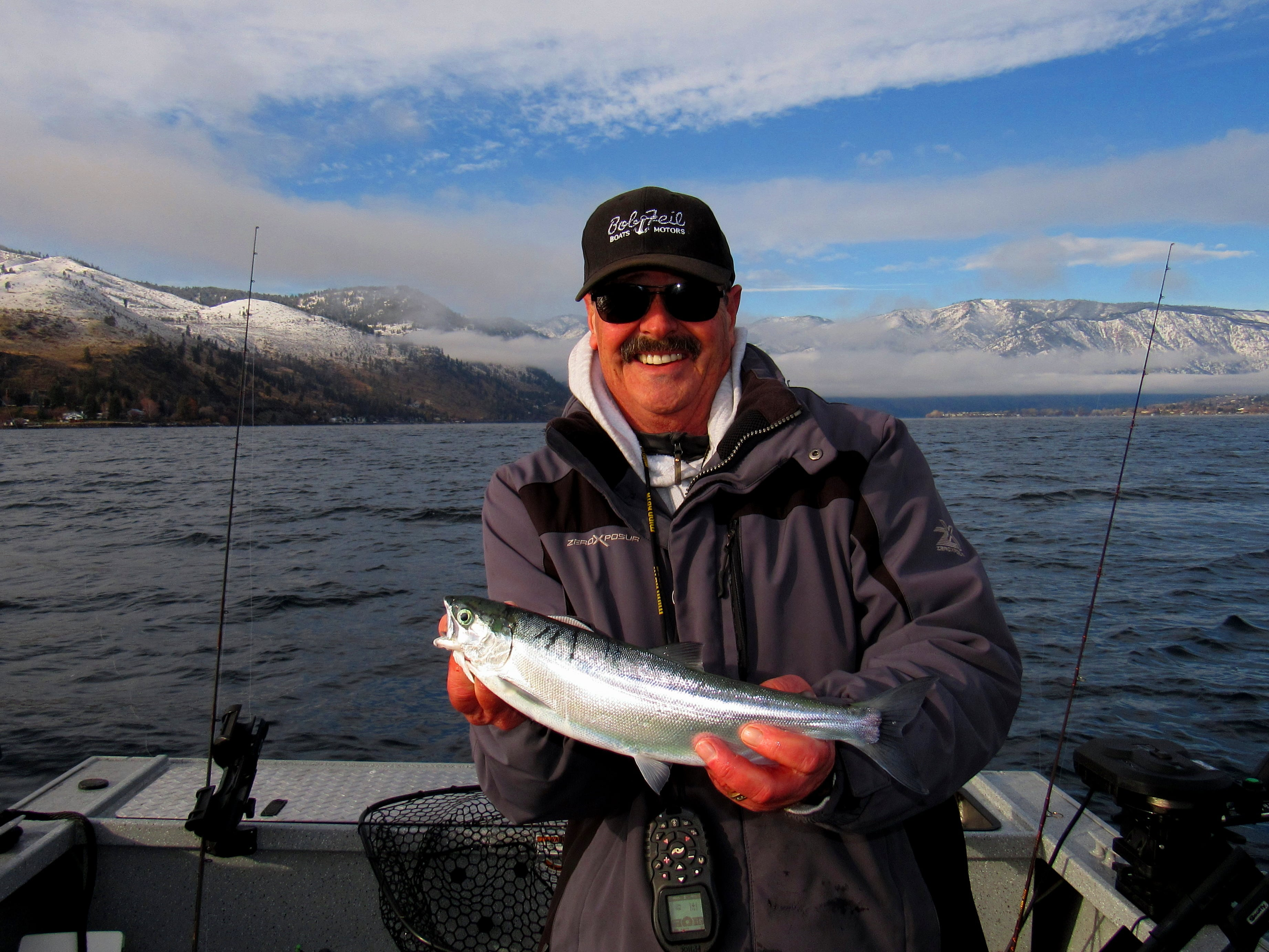 The outdoor line blog keeping hunters and fishermen for Lake chelan fishing